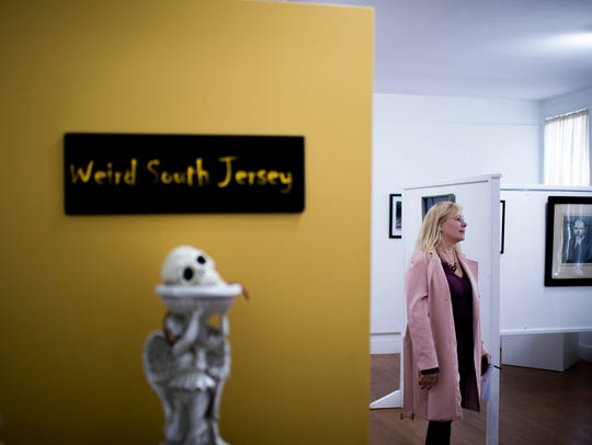 Stay weird, South Jersey: Curator Michele Vallone visits