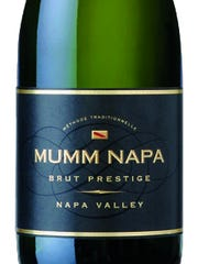 Mumm Napa Brut Presitge has flavors of citrus, honey and vanilla.