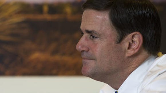 Republican Gov. Doug Ducey surprised liberal critics with his support for gay adoption