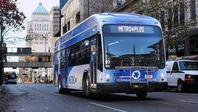 A task force will look at ways to improve the Metro bus system, which includes the limited-stop Metro Plus service.