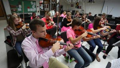 Marshfield High School orchestra