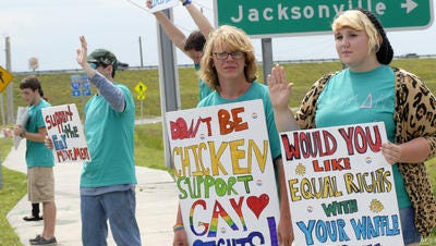 Remember the boycott against Chick fil-A in 2012. It didn't really seem to hurt the popular restaurant chain.