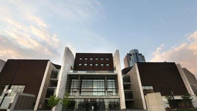 The National Underground Railroad Freedom Center, located at The Banks,