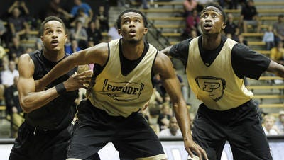 Can Purdue men's basketball return to the NCAA tournament? Ken Pomeroy's projections put the Boilermakers in contention.