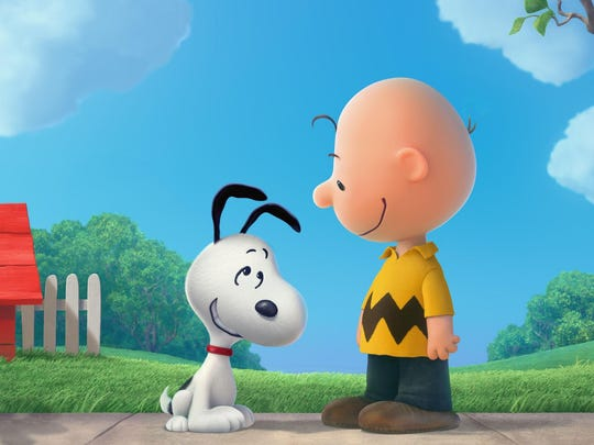 "Snoopy, Charlie Brown and the rest of the gang In ""Peanuts."""