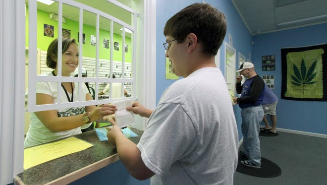 Sixteen marijuana retailers have reported sales in Kitsap this year.