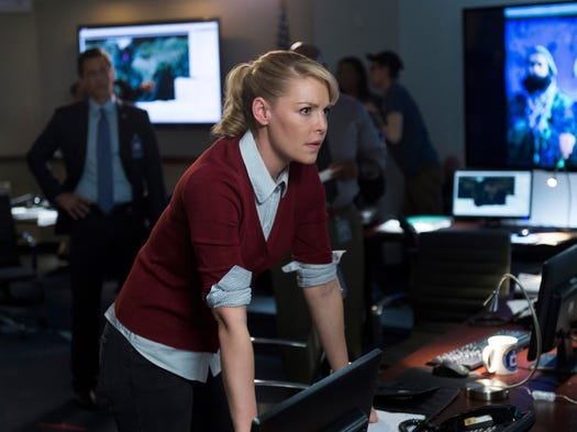 TV broadcast network upfronts take place this week in New York, where new series and nightly lineups for the fall are presented to potential advertisers.  NBC is up first, and among the network's highlights: Katherine Heigl's return to a drama series with 'State of Affairs.'