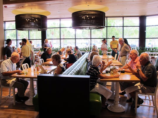 True Food Kitchen recently opened at Waterside Shops