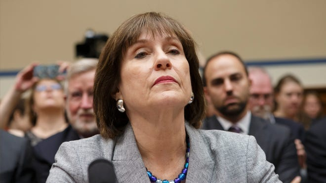 """Internal Revenue Service official Lois Lerner testifies on Capitol Hill in Washington, D.C., in May. The IRS says it has lost a trove of e-mails to and from a central figure in the agency's """"tea party"""" controversy."""