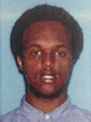 This undated photo provided by the U.S. Attorney's Office shows Mohamed Roble. According to court testimony in a federal terrorism trial, Roble, who was one of 52 passengers that survived when the school bus they were on plummeted more than 30 feet after the Aug. 1, 2007, Minneapolis bridge collapse, is now believed to be in Syria with the Islamic State group.