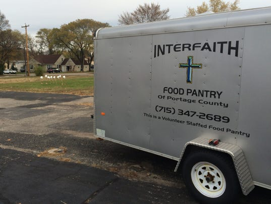 Interfaith food pantry breaks ground for Interfaith food pantry plover