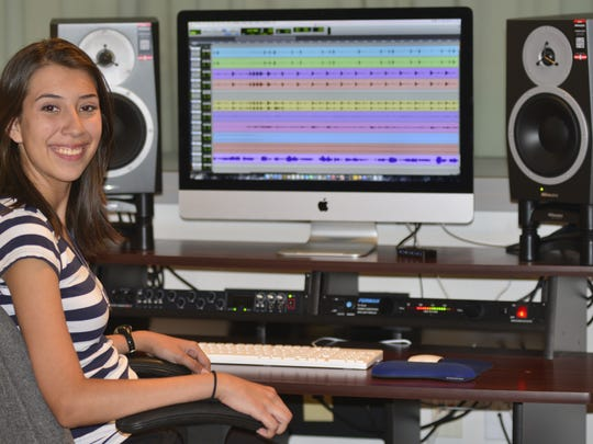 Marisa Williams, 17, is set to graduate College of the Sequoias, days before she will graduate high school. She plans on going into the music or the recording industry.