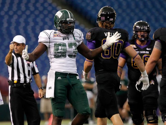 NCAA Football: Beef 'O' Brady's Bowl-East Carolina vs Ohio