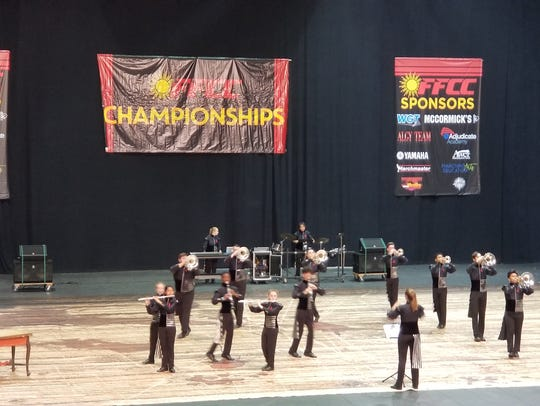 Nemesis during their finals performance.