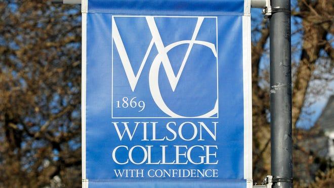 Wilson College banner