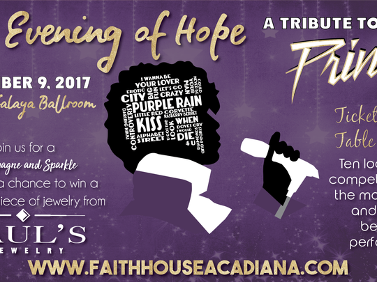 An Evening of Hope will take place on Dec. 9 at the UL Atchafalaya Ballroom.
