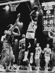 JANUARY 13, 1963: Oscar Robertson at Cincinnati Garden.