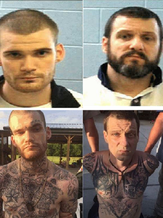 Side by side of the Georgia Fugitives