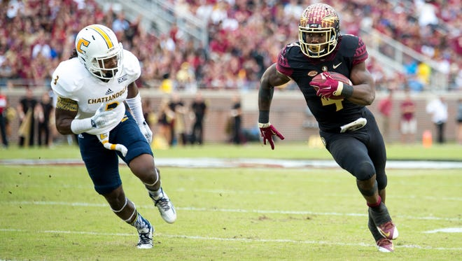 Dalvin Cook rushed for over 100 yards yet again as FSU defeated UT-Chattanooga 52-13.
