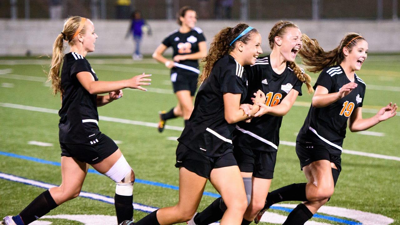Watch: Central York captures YAIAA girls' soccer title