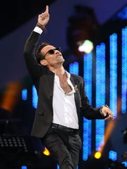 Marc Anthony performs during the 60th Vina del Mar International Song Festival in Vina del Mar, Chile, on Feb. 26, 2019.