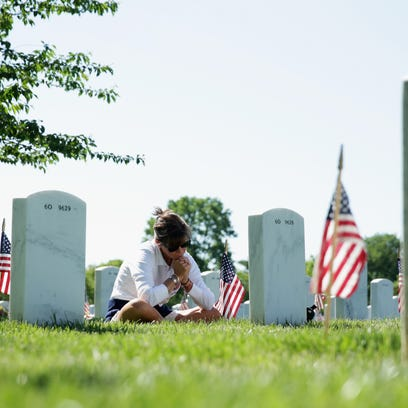 Many people will visit the gravesites of men and women
