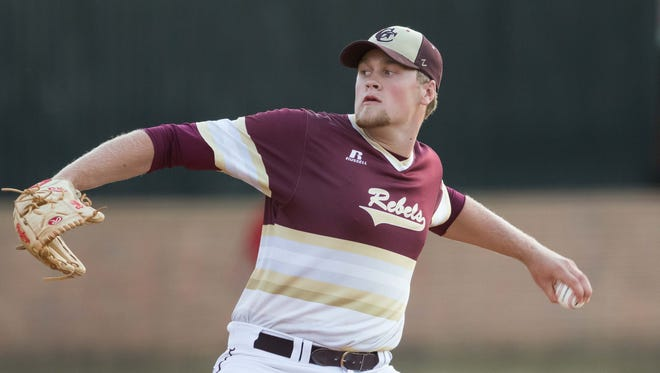 George County's Walker Robbins is listed as the No. 93 prospect in the MLB draft by MLB.com and No. 116 by Baseball America.