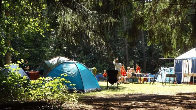 Enjoy the great outdoors with an economical camping vacation.