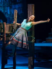 "Paula Rebelo in Arizona Theatre Company's ""The River Bride."""