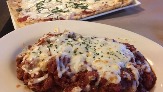 The Springbrook Italian Bistro &  Tap House features authentic Italian flavors in lasagna and grilled flat bread pizza.