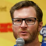 Dale Earnhardt Jr. relaxed, insightful from NBC booth