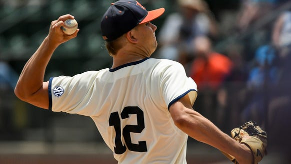 Andrew Mitchell Auburn baseball vs Ole Miss on Saturday,
