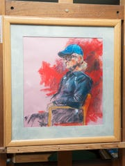 "A pastel drawing entitled ""Joe"" by Cinnaminson artist Ben Cohen that will be part of Cohen's upcoming show of work inspired by the artwork of children. 05.15.15"