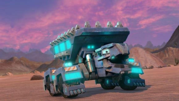 """Dinotrux Supercharged"""