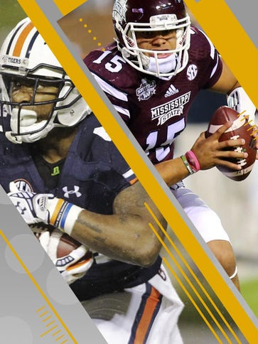 Auburn and Mississippi State both have rivalry contests