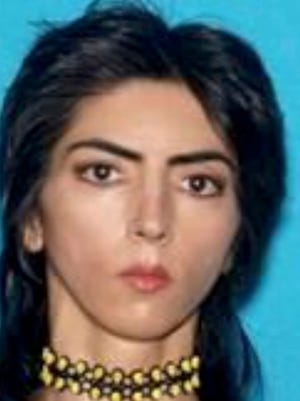A police handout photo of Nasim Aghdam.