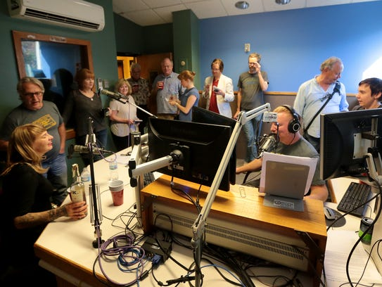 WNKU radio station went off the air for the final time