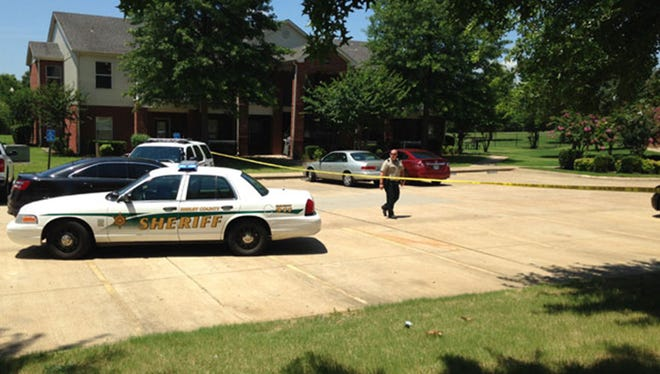 Shelby County (Tenn.) Sheriff's deputies are at the scene of an apartment complex where four children were fatally stabbed.