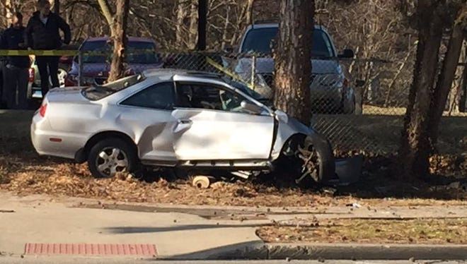 man in his 60s is dead after a Tuesday crash near Xavier University's campus, according to Cincinnati police.