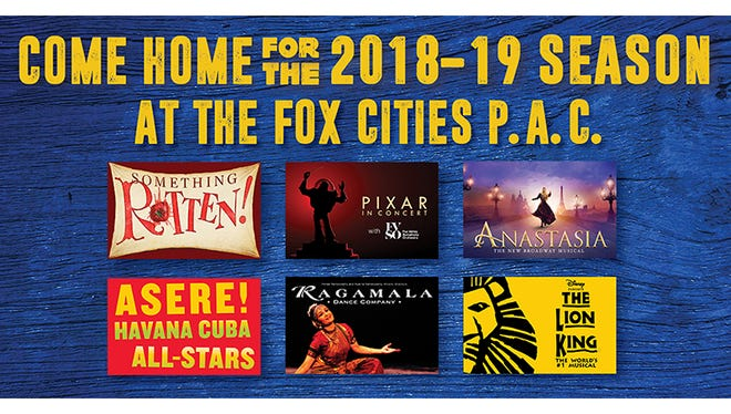 Come home for the 2018-19 season at the Fox Cities Performing Arts Center
