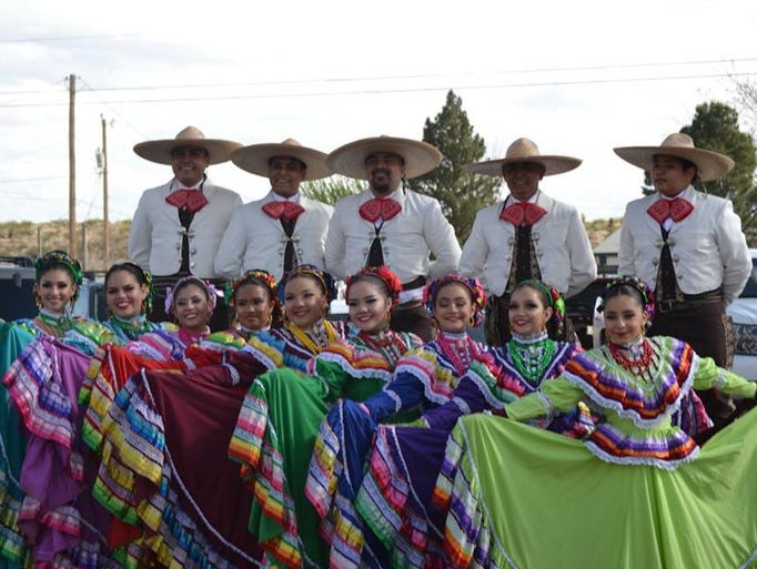The Ballet Folklorico Paso del Norte performed during