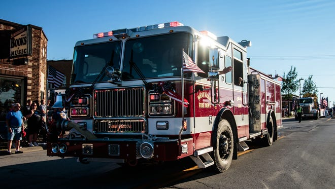 A fire that started on a rear porch July 12 caused about $16,000 damage to a duplex at 1417 S. 56th St. in West Allis.