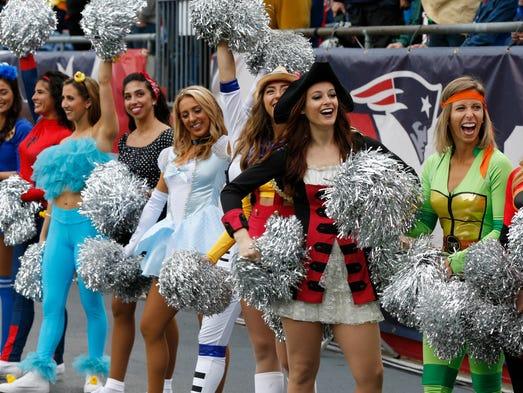 Week 8: New England Patriots