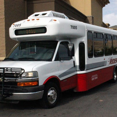There are six Silver Rider buses available for use.