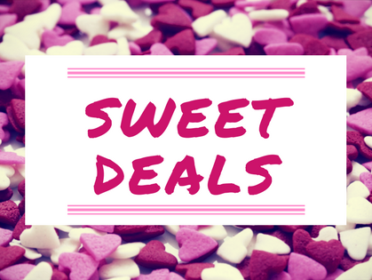 We heart our Insiders and to show you how much we have a month of sweet deals just for you!