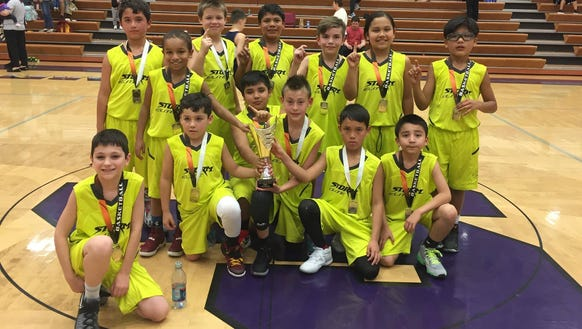 Cherokee's Storm Elite third-grade boys basketball