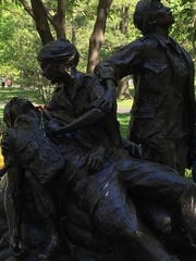 The Vietnam Women's Memorial is a memorial dedicated to the women of the United States who served in the Vietnam War, most of whom were nurses.