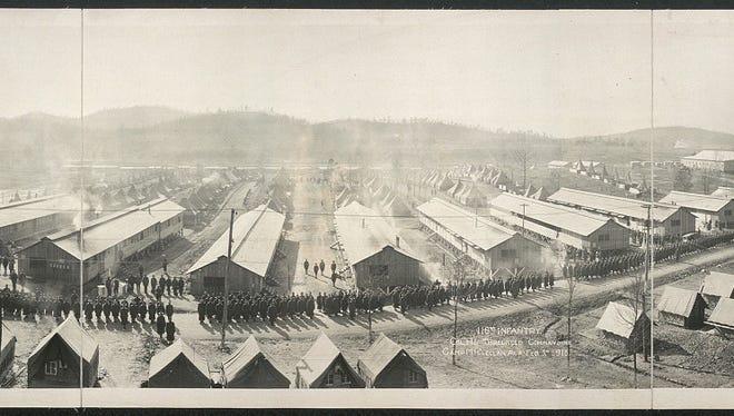 116th Infantry, Col. H. L. Threlkeld, commanding, Camp McClellan, Ala., Feb. 5th, 1918