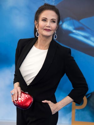 """Actress Lynda Carter attends the world premiere of """"Wonder Woman"""" at the Pantages on May 25, 2017 in Hollywood, California."""
