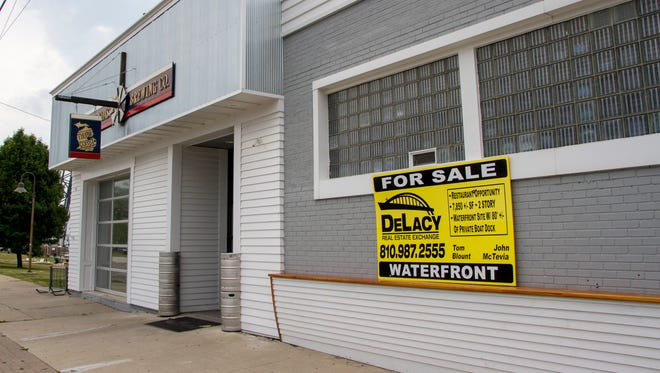The former Thumbcoast Brewing Company building, located at 330 Quay St., is one of the buildings in downtown Port Huron that are for sale.